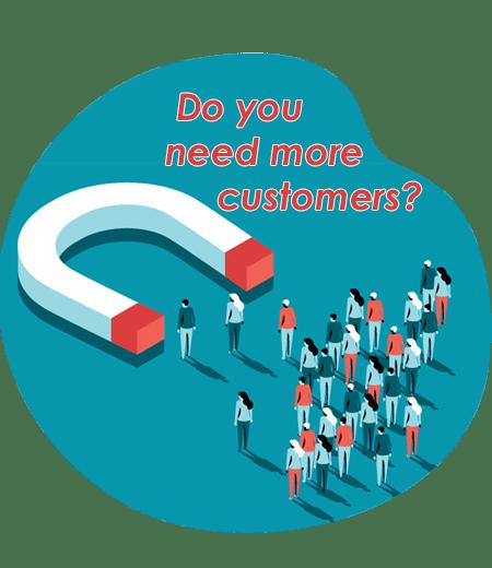 do you need more customers